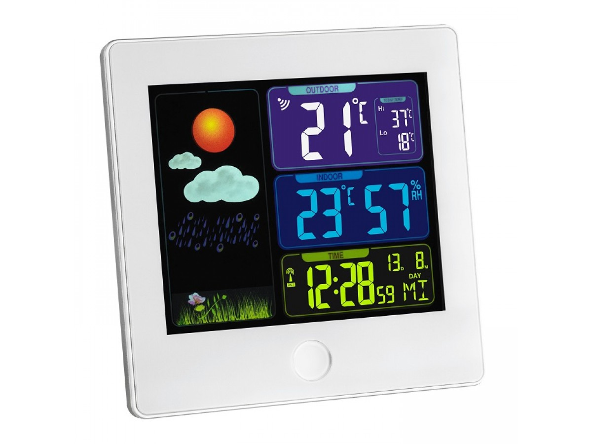 Statie meteo digitala Sun cu senzor extern wireless TFA S35.1133.02 imagine 2021 soldec-shop.ro