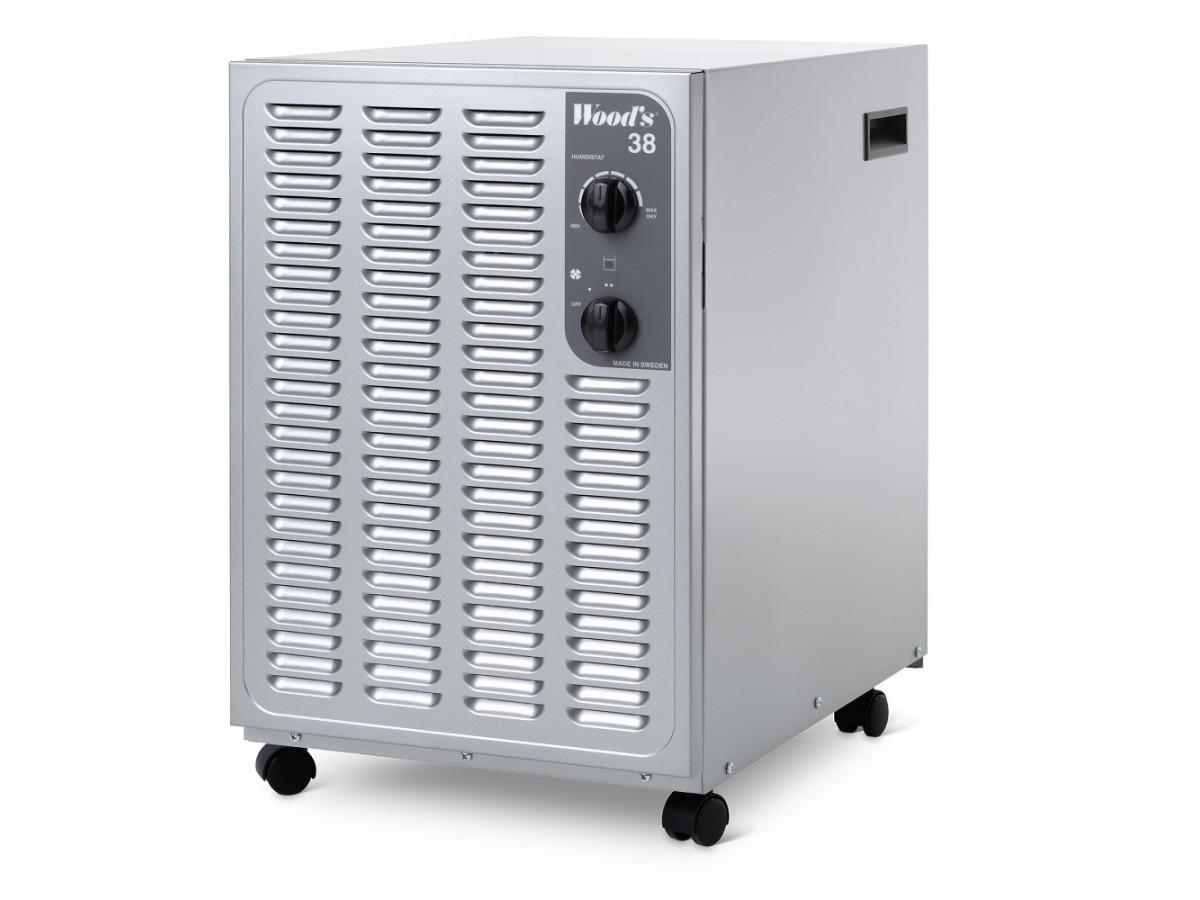 Dezumidificator si purificator Woods SW38FM Suedia imagine 2021 soldec-shop.ro