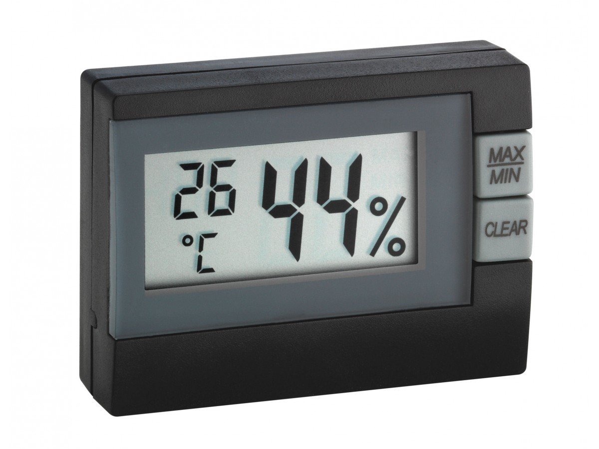 Termohigrometru digital TFA S30.5005.01 negru imagine 2021 soldec-shop.ro