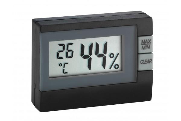 Termohigrometru digital TFA S30.5005.01 negru