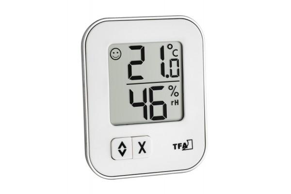 Termohigrometru digital Alb TFA S30.5026.02