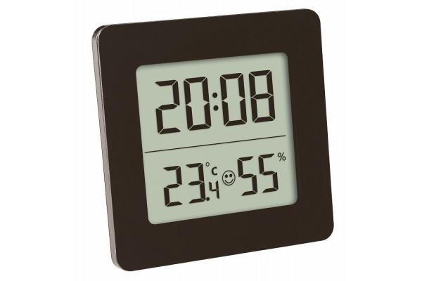 Termohigrometru digital cu ceas TFA S30.5038.01