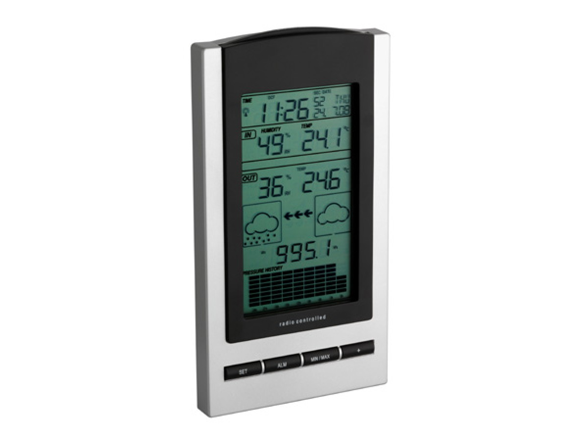 Statie meteo digitala Gaia cu senzor extern wireless TFA S35.1083.54 imagine 2021 soldec-shop.ro