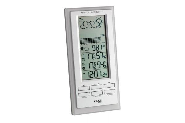 Statie meteo digitala Faktum cu senzor extern wireless TFA S35.1101.02