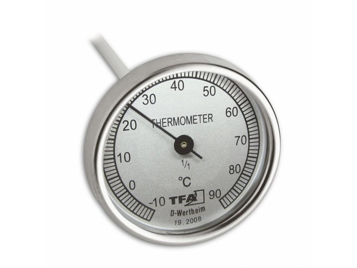 Termometru mecanic inox pentru compost S19.2008 imagine 2021 soldec-shop.ro