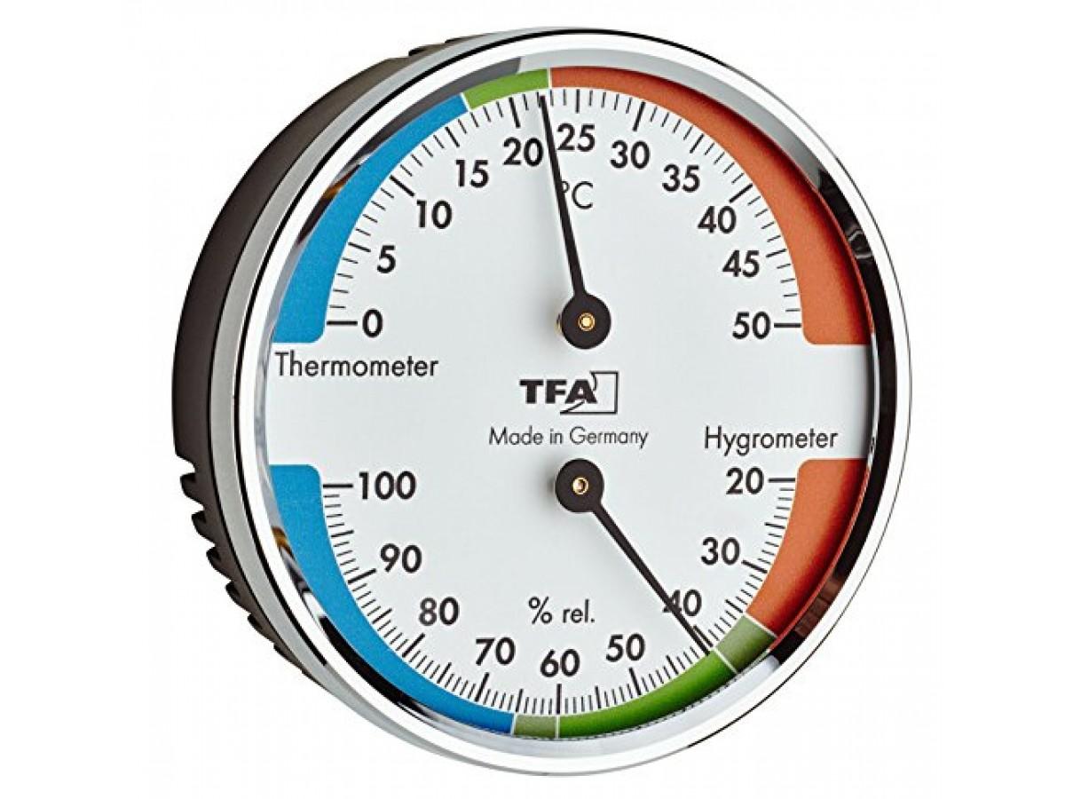 Termohigrometru analog TFA S45.2040.42 imagine 2021 soldec-shop.ro