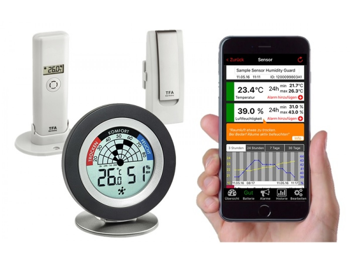 Sistem meteo Smart Home TFA S31.4008.02 imagine 2021 soldec-shop.ro