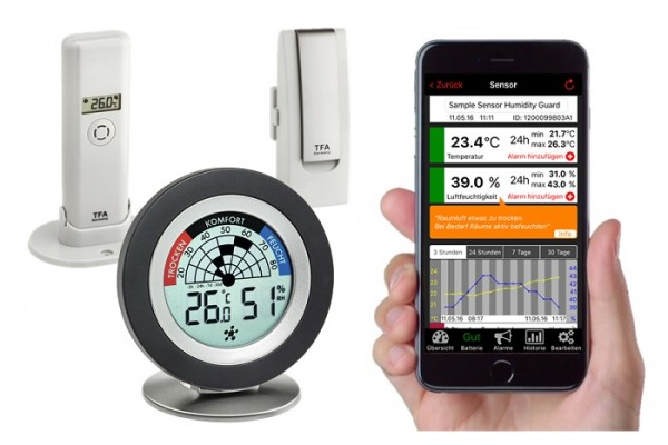 Sistem meteo Smart Home TFA S31.4008.02