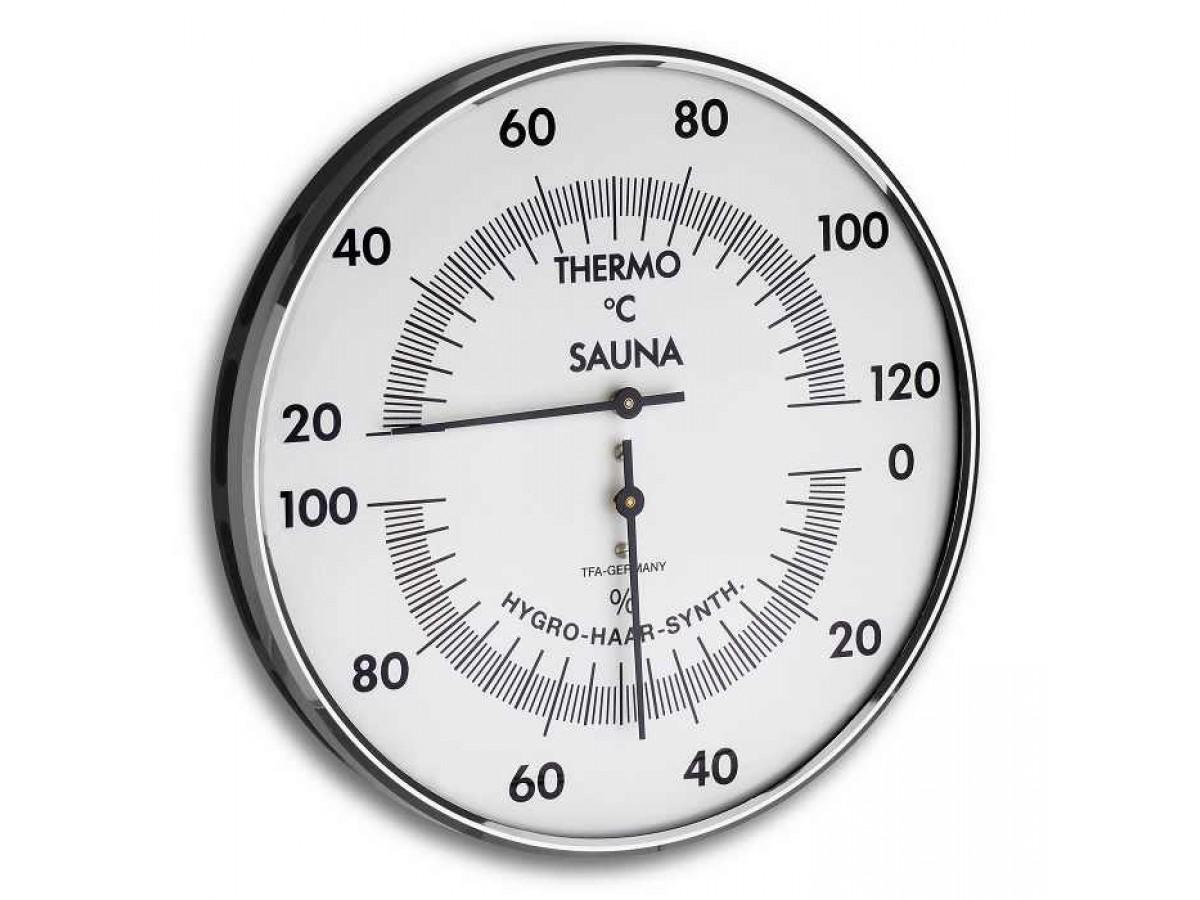 Termohigrometru Mecanic Sauna  S