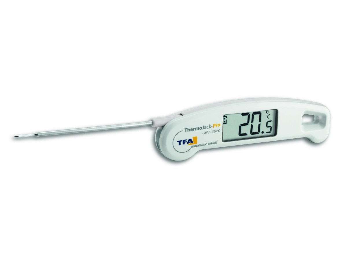 Termometru profesional digital cu sonda THERMO JACK PRO TFA S30.1050.02 imagine 2021 soldec-shop.ro