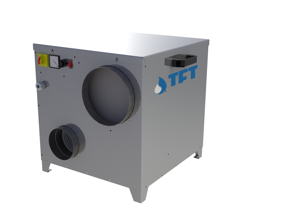 Dezumidificator cu rotor TFT AD150 imagine 2021 soldec-shop.ro