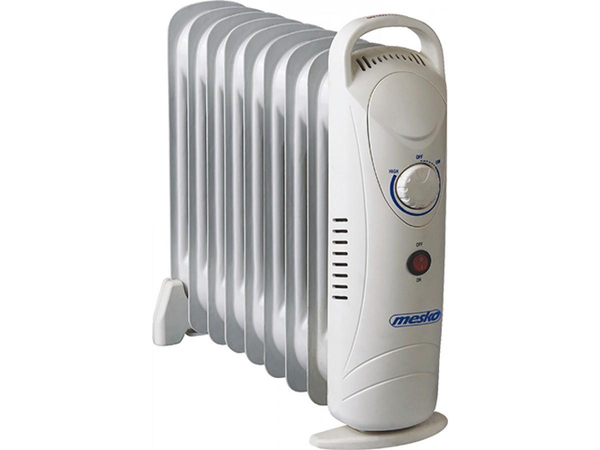 Calorifer electric Adler MS 7805, termostat, 9 elemente, 1000W imagine 2021 soldec-shop.ro