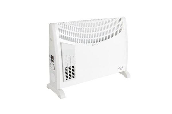 Convector electric Adler AD 7705, termostat, 750-1250-2000W, turbo fan