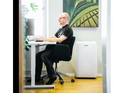 Aparatele de aer condiționat mobil, mai prietenoase pentru birouri