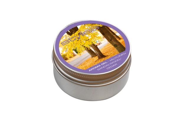 Aroma Gel Autumn - Lemn de santal si cedru