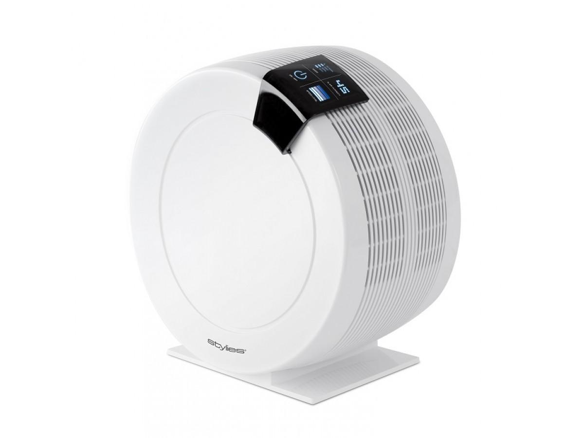 Airwasher Aquarius alb - umidificator si purificator aer, 7,2 litri/zi, panou control, higrostat imagine 2021 soldec-shop.ro