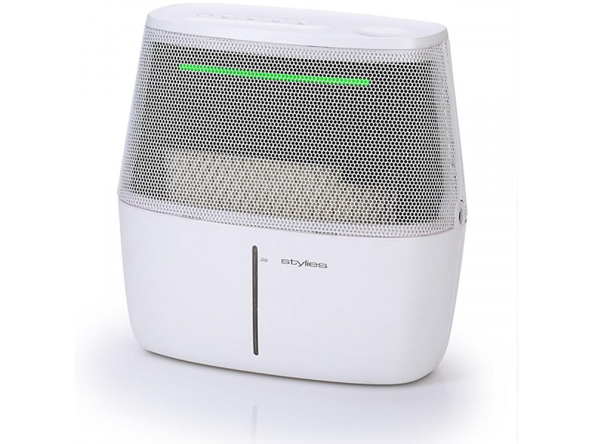 Umidificator cu evaporare Alaze, 6,7 litri/zi, senzor umiditate cu culori, higrostat imagine 2021 soldec-shop.ro