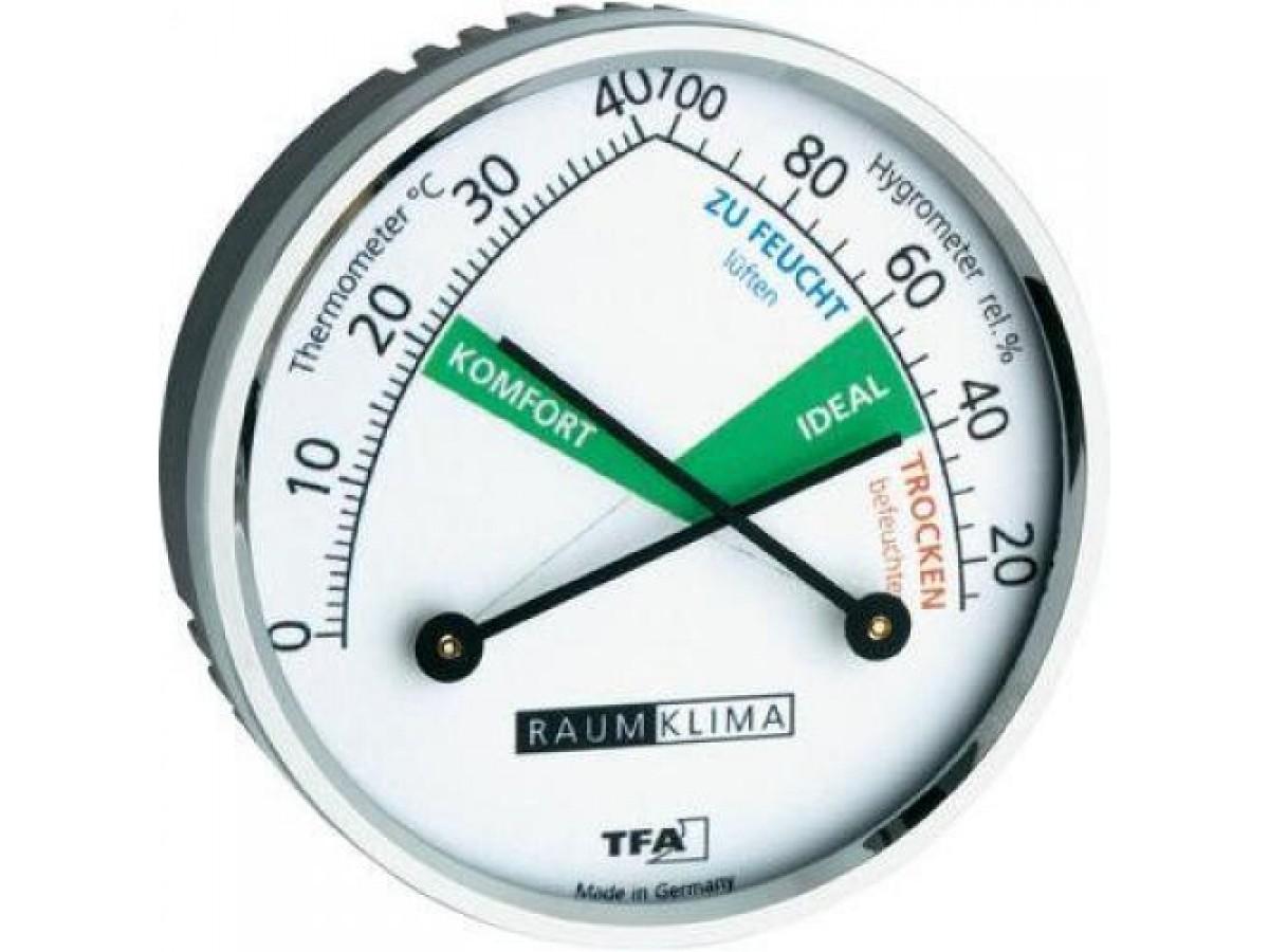 Termohigrometru analog TFA S45.2024 imagine 2021 soldec-shop.ro