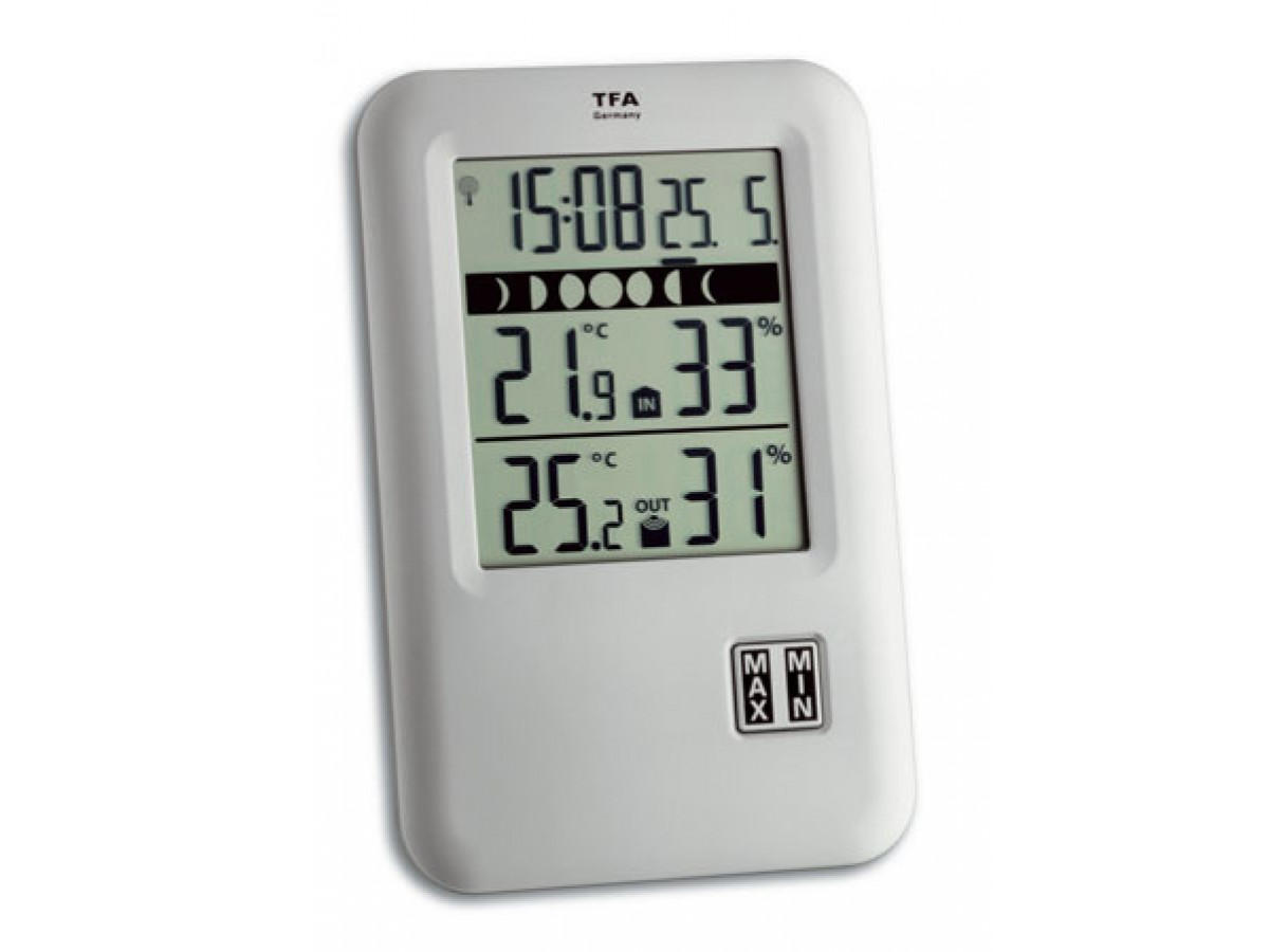 Statie meteo de precizie Neo Start cu senzor wireless TFA S30.3044.IT imagine 2021 soldec-shop.ro