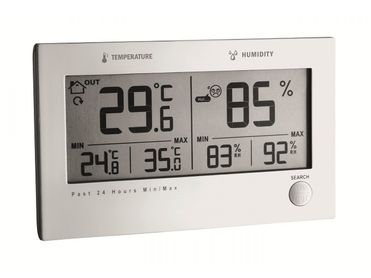 Statie meteo digitala Twin Plus cu senzor extern TFA S30.3049 imagine 2021 soldec-shop.ro