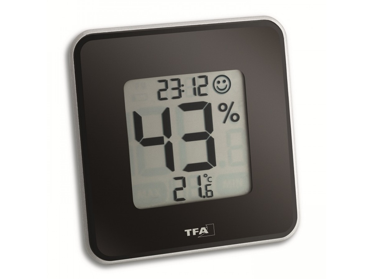 Termohigrometru digital TFA S30.5021.01 imagine 2021 soldec-shop.ro